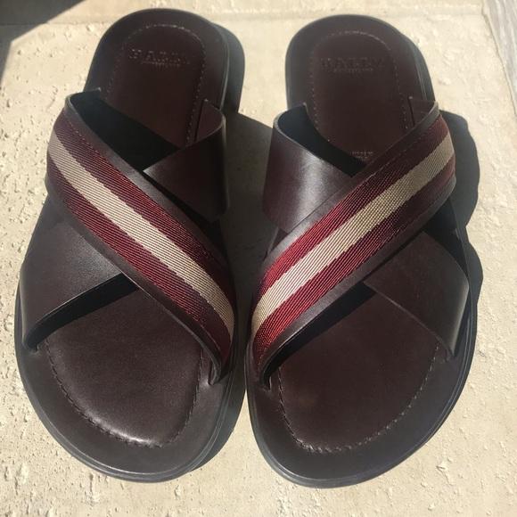 cd8790faf20524 Bally Shoes | S Mens Crisscross Sandals | Poshmark